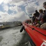 Speedboot Bootsfahrt auf der Seine