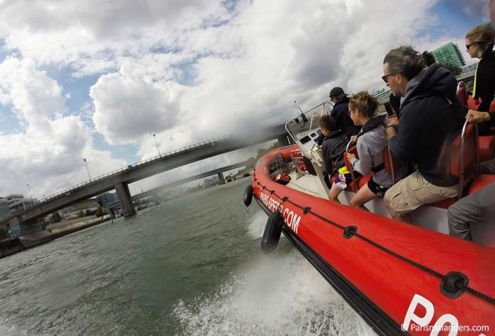 Speedboot Speed Boat Seine Paris