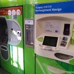 Ticketautomaten Paris Metro