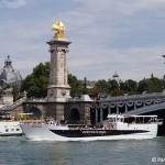 Vedettes de Paris Bootsfahrten Seine Paris