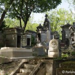 Friedhof Pere Lachaise Graeber