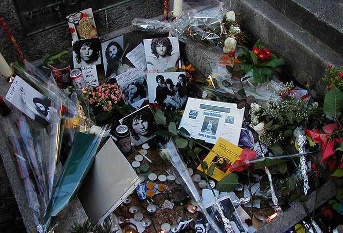 Grab Jim Morrison Pere Lachaise Cimetiere