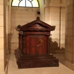 Das Grab des französischen Philosophen Jean-Jacques Rousseau
