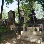 Statue Friedhof Pere Lachaise