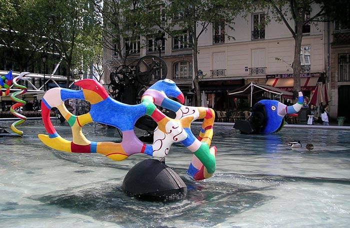 Strawinsky Brunnen Paris