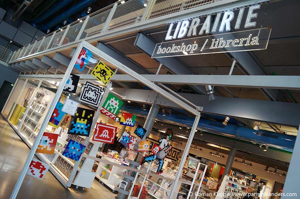 Buchgeschäft Centre Pompidou
