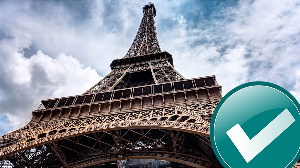 Checkliste Parisurlaub Reiseinformationen