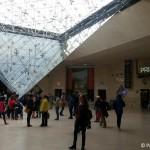 Eingang-Louvre Einkaufsgalerie Carrousel
