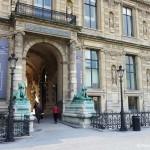 Eingang Porte des Lions Louvre