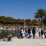 Jardin Luxembourg Park Paris mit Kindern