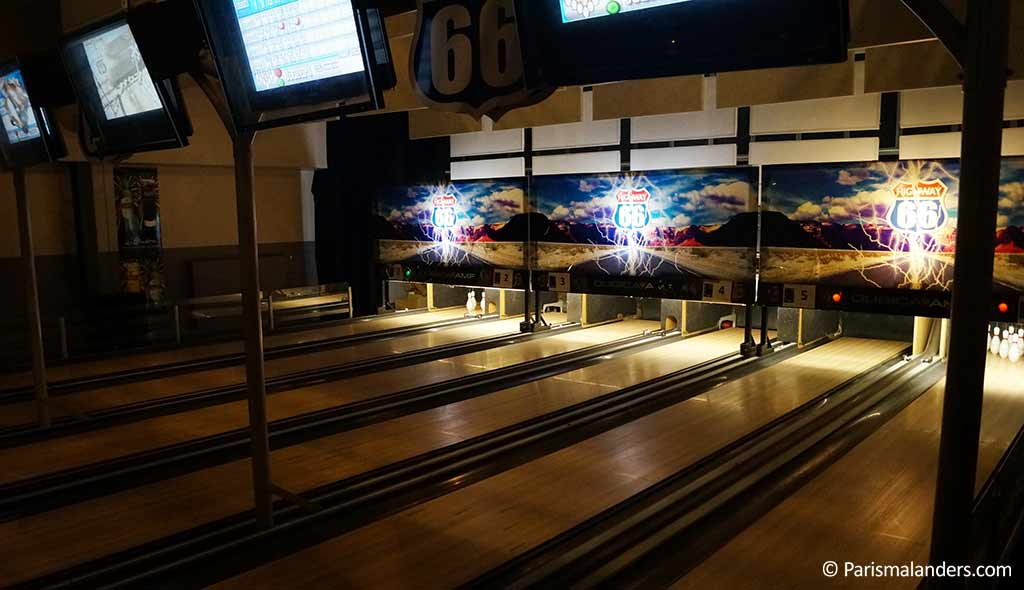 La Quille Mini Bowling Bar Paris