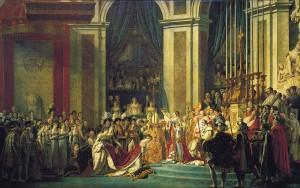 Le Sacre de Napoleon Louvre Paris