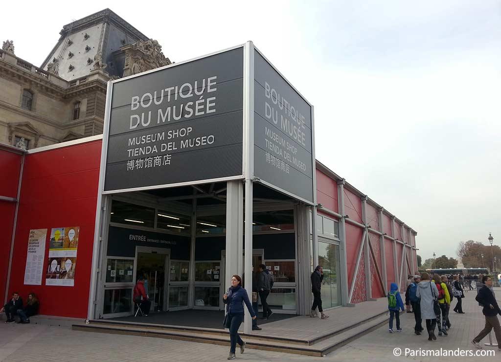 Louvre Souvenir Geschaeft