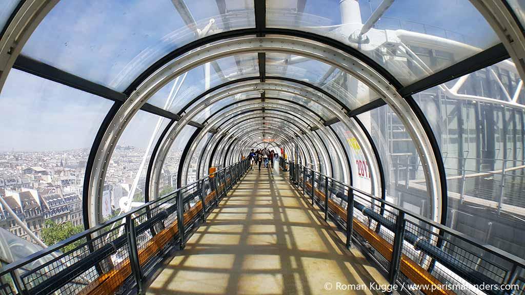 Rolltreppe Centre Pompidou (1)