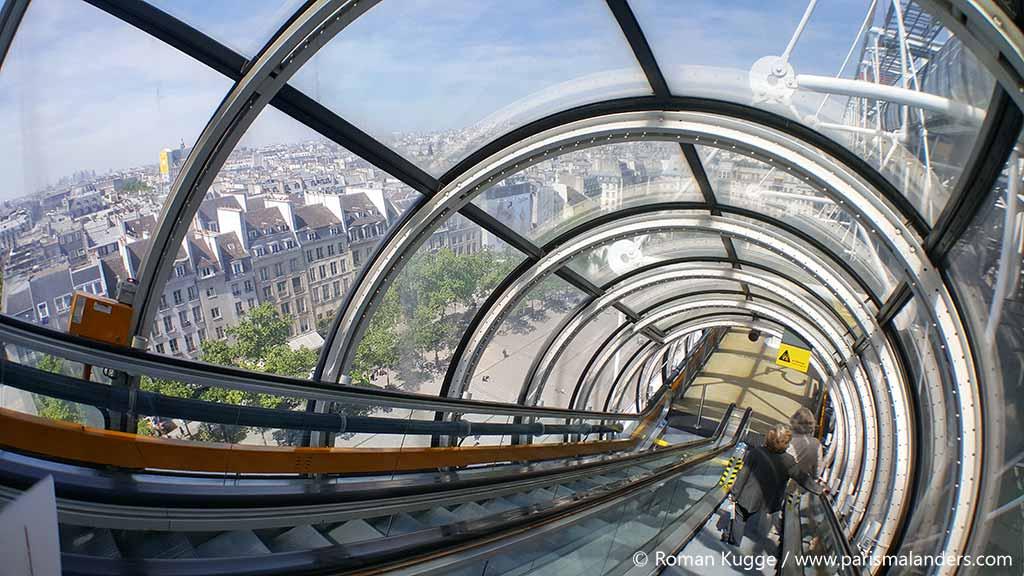 Rolltreppe Centre Pompidou (2)