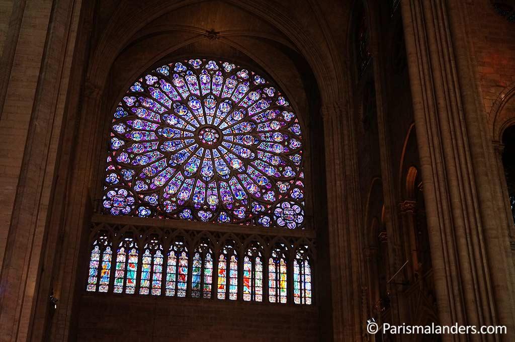 Rosette-Fensterrose Notre Dame Paris