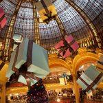 Weihnachtsmarkt Galeries Lafayette Paris