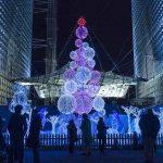 Weihnachtsmarkt in Paris La Defense