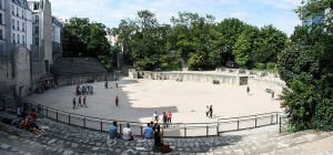 Arenes Lutece Paris Quartier Latin