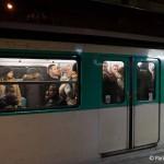 Metro Silvester Paris