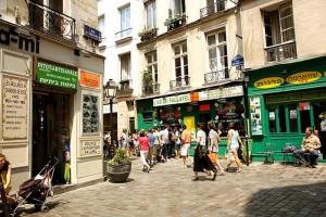 Rue des Rosiers Paris