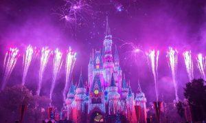 Silvester in Paris Feuerwerk Disneyland
