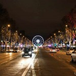 Weihnachten Paris Champs Elysees