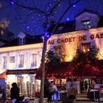 Weihnachten Paris Montmartre