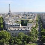 Aussicht Triumphbogen Arc de Triomphe