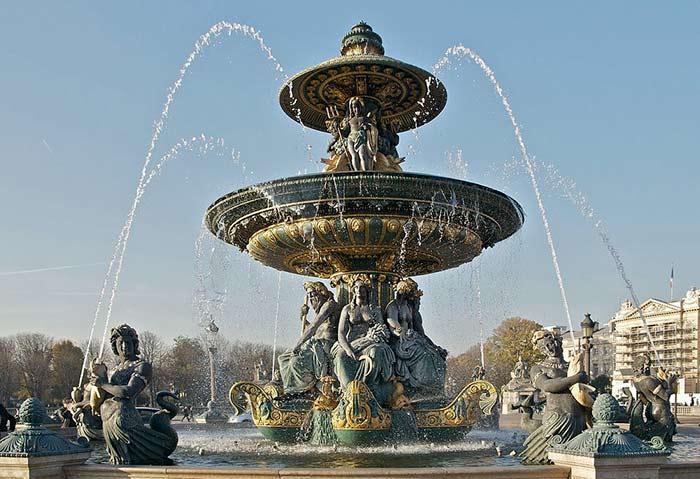 Brunnen Place de la Concorde