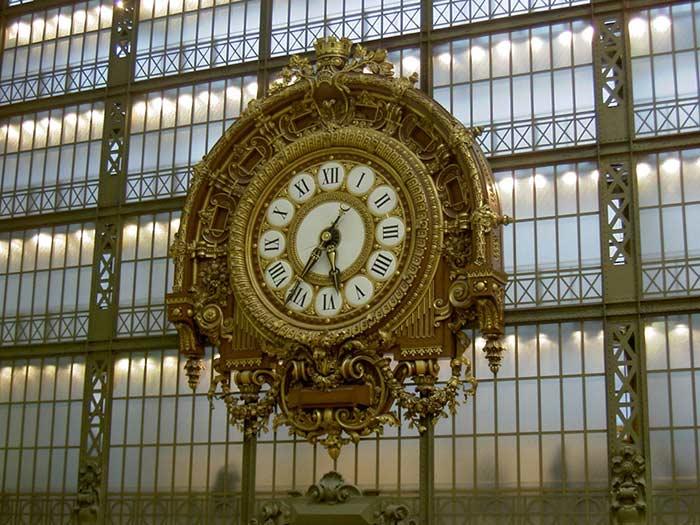 Orsay Museum Paris Uhr