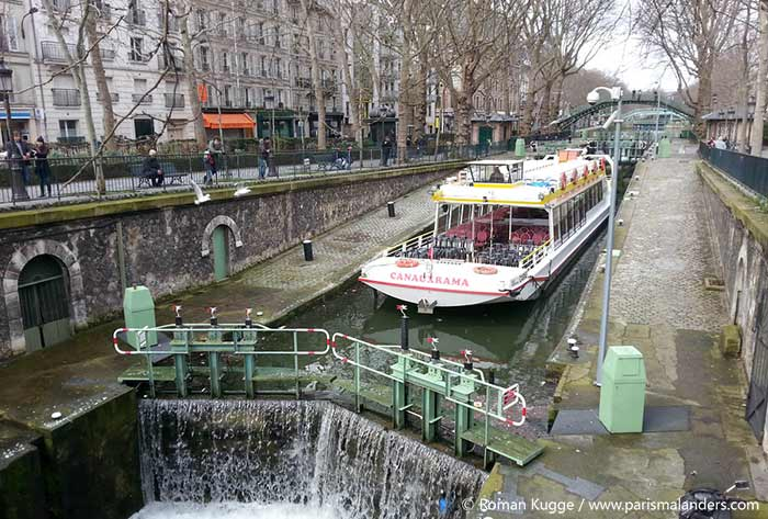Canal Saint Martin Paris Valentinstag