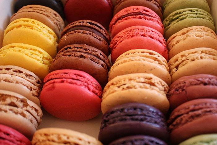 Macarons Paris Geschenkidee