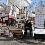 Maler-Place du Tertre Montmartre