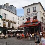 Montmartre Strassen Paris