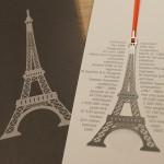 Paris Eiffelturm Lesezeichen (5)