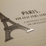 Paris Eiffelturm Lesezeichen (9)