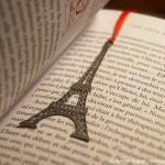 Paris Geschenkidee Lesezeichen