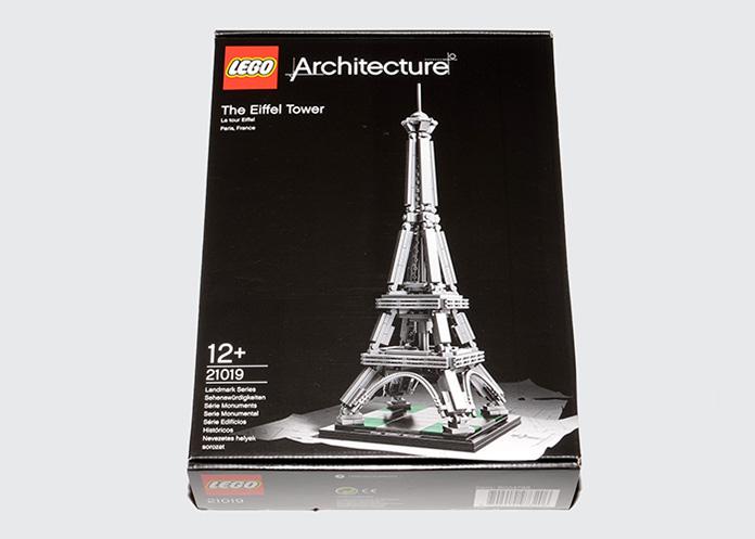 Paris Lego Eiffelturm