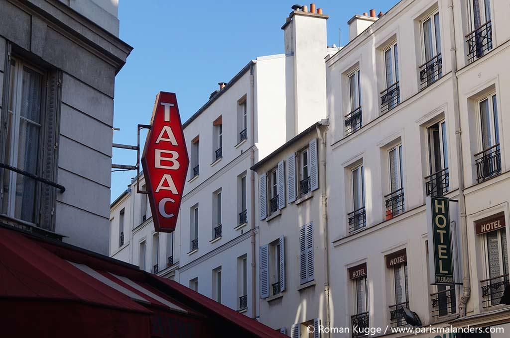 Rauchen Frankreich Paris
