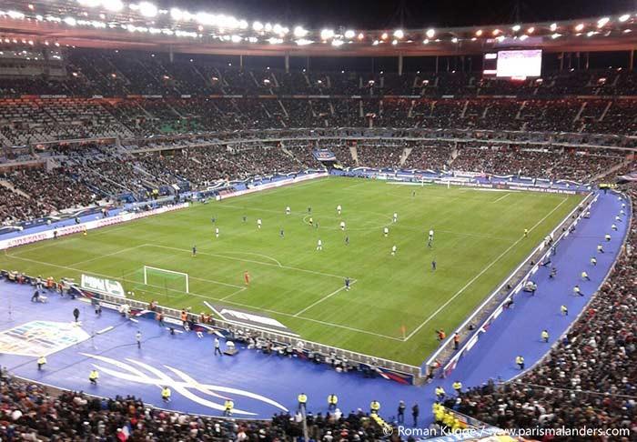 Stade de france in paris paris mal anders - Superficie stade de france ...