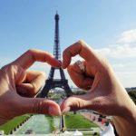 Eiffelturm Herz