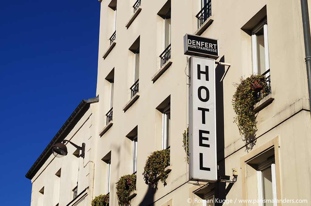 Plan Arrondissements Hotels
