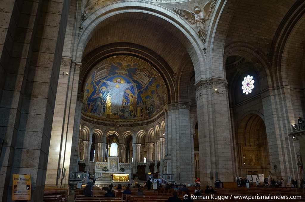 Mosaik Sacre Coeur Paris