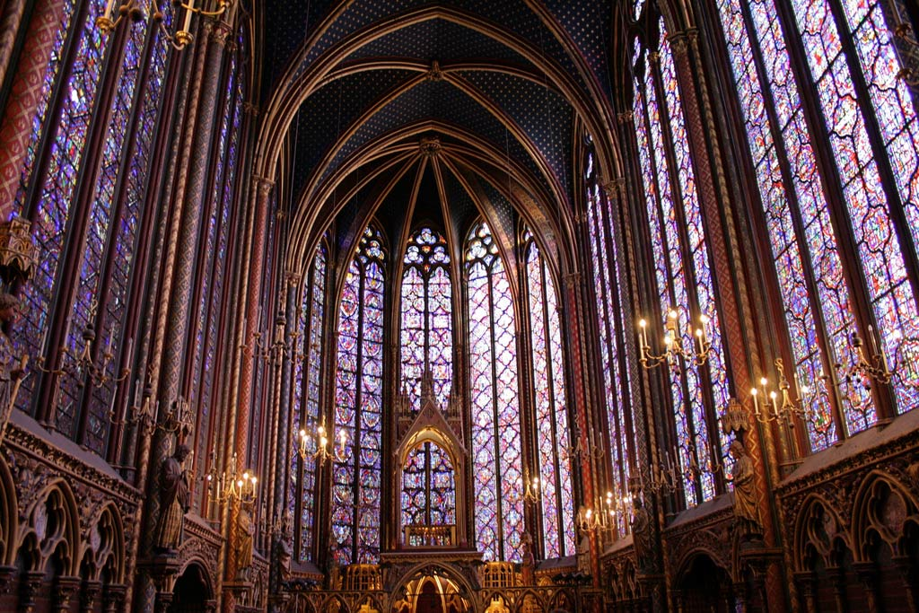 Paris Sainte Chapelle Innen