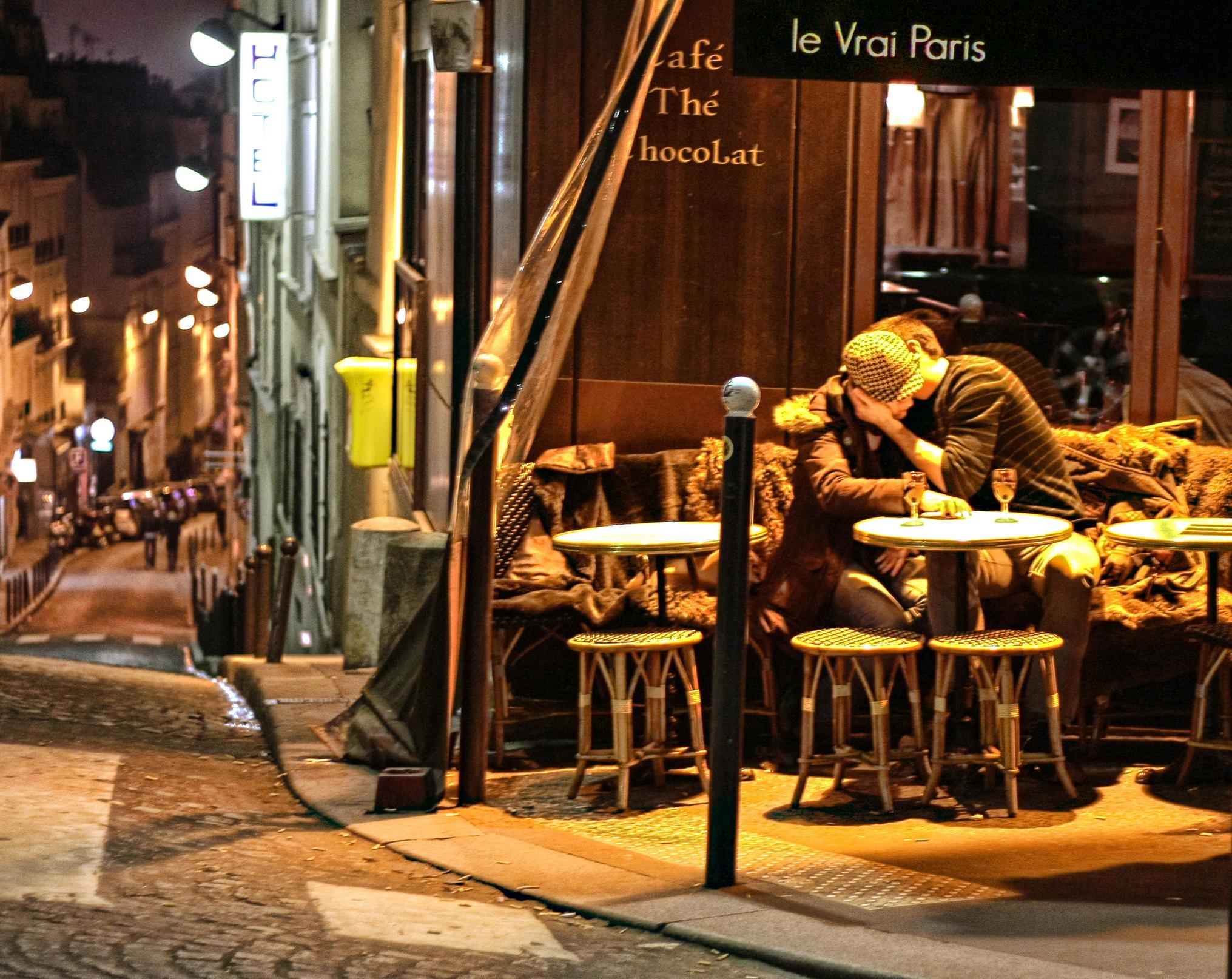 Crepe Meile Paris Rue Montparnasse