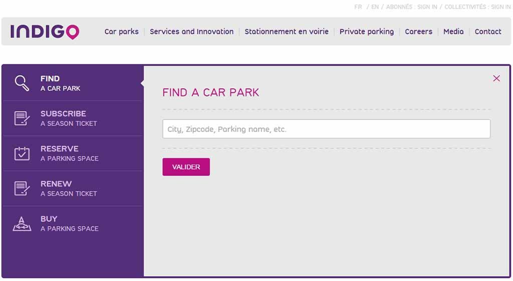 Parkhaus Parking de Paris