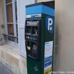 Parkscheinautomat Ticketautomat Paris