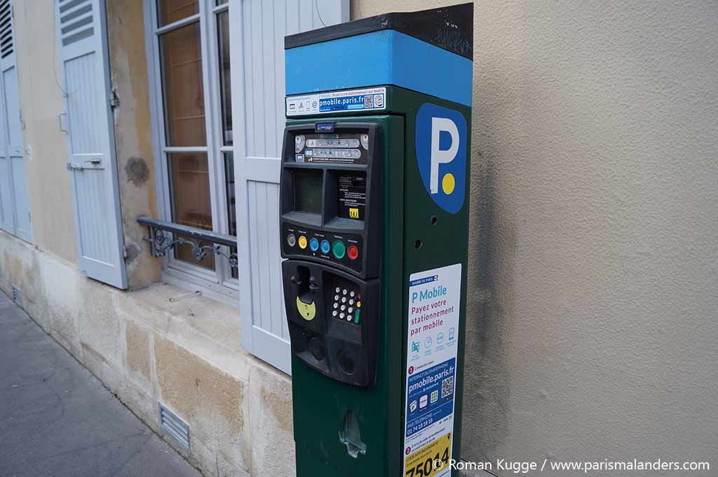 Parkhaus Parking de Paris