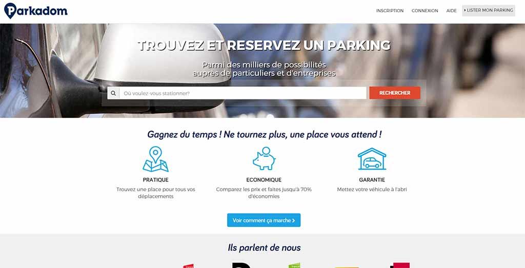Privatparkplatz Paris Parkadom